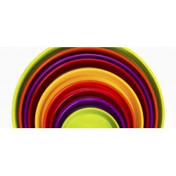 Platos redondos de Plástico - Varias Medidas y Colores