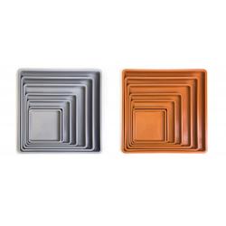 Platos cuadrados