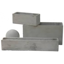 Jardinera Cemento- Varias Medidas
