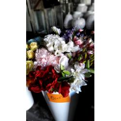 Flores artificial por unidad - consultar