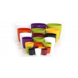 Premium redonda de Plástico - Varias Medidas y Colores